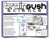 Fifth Science STAAR REVIEW Booklets - BRAIN GUSH!