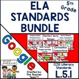 Fifth Grade Grammar Bundle | Google Classroom Activities L.5.1