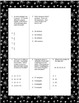 Fifth Grade Math Review Worksheets Packet - Volume 1