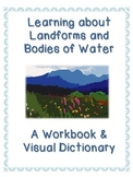 50 Landforms and Bodies of Water Workbook and Interactive Dictionary