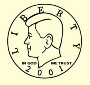 Fifty Cent Piece Clipart - Heads
