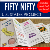 State Travel Brochure: State Project for Any U.S. State!