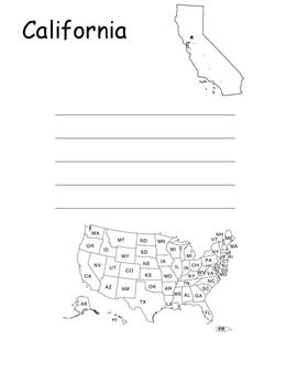 Fifty Nifty States Book
