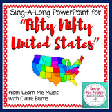 Fifty Nifty United States Lyrics PowerPoint