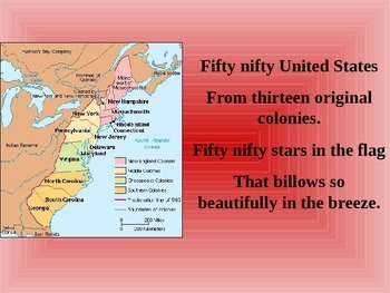Fifty Nifty United States Sing Along Powerpoint