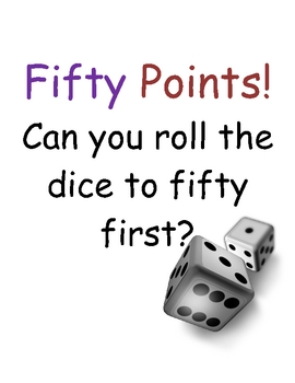 Fifty Points Math Game