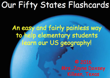 Fifty States Flashcards