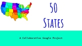 Fifty States with Google Slides Template!