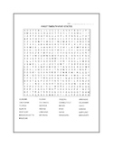 Fifty States Word Search