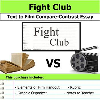 Fight Club  Text To Film Essay By S J Brull  Teachers Pay Teachers Fight Club  Text To Film Essay High School Persuasive Essay Examples also Write My Report On The Great War  Controversial Essay Topics For Research Paper