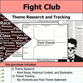 Fight Club - Theme Tracking Notes Etymology & Context Research