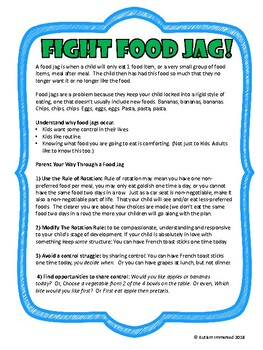 Fight Food Jag