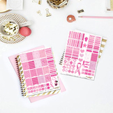 Fight Like A Survivor Printable Planner Stickers