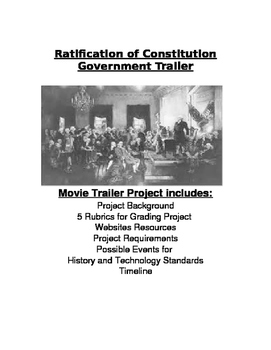 Fight for Ratification of Constitution: Movie Trailer & Poster