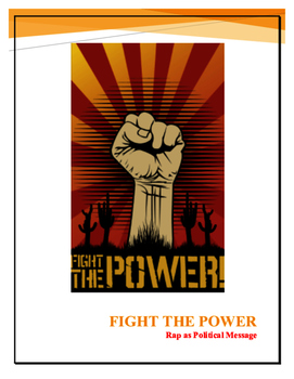 Fight the Power Rap as Political Message