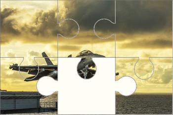 Fighter Jet Digital Puzzle VIPKID