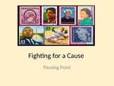 Fighting For A Cause Pausing Point