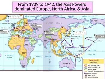 Fighting WWII in Europe Power Point