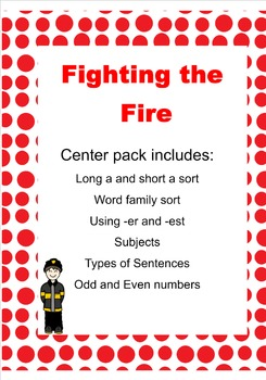 Fighting the Fire Center Pack