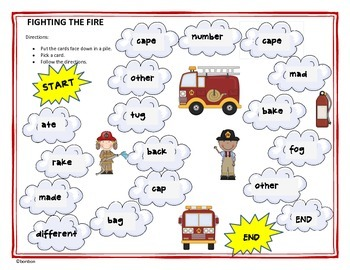 Fighting the Fire - Common Core Story Study