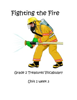 Fighting the Fire Vocabulary Posters