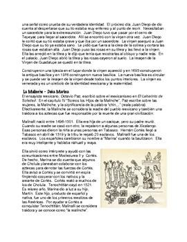 Figuras Femeninas Mexicanas - Mamá, Santa, y Traidora