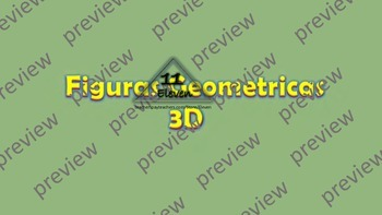 3D Shapes Power Point (Spanish)