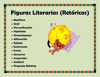 Figuras Literarias (Retóricas)