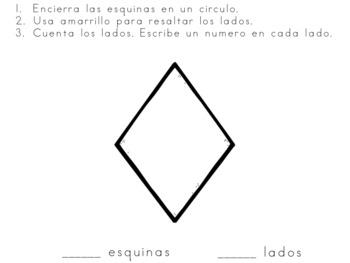 Figuras Planas esquinas y lados