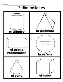 Figuras Sólidas- Figuras de 3 dimensiones