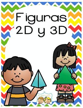 Figuras bidimensionales y tridimensionales tamaño 8x10 CU