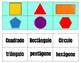 Figuras de dos/tres dimensiones/ Shapes in Spanish