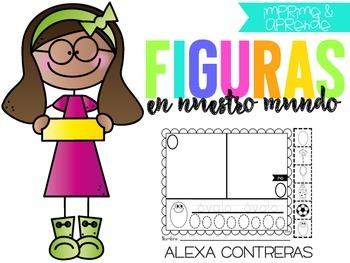 Figuras en Nuestro Mundo (Shapes in Spanish)