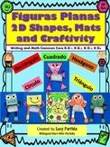Shapes Figuras planas Actividades-Centers-Writing ARTBilingual Stars MrsPartida