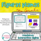 Figuras planas cuaderno interactivo digital