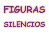 Figuras y silencios en español
