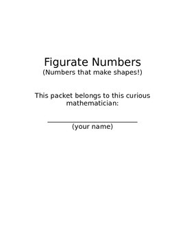Figurate Numbers - Numbers that make shapes!