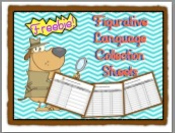 Figurative Language Collection Sheets FREEBIE