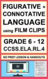 Figurative Language + Connotation with Video:NO PREP Lesso
