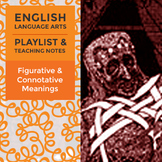 Figurative & Connotative Meanings – Playlist and Teaching Notes