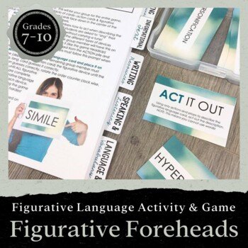Figurative Foreheads: A Game for Teaching Figurative Language