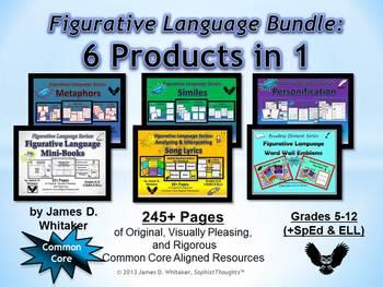 Figurative Language Bundle Common Core
