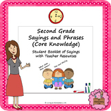 Second Grade Sayings and Phrases (Core Knowledge) Student