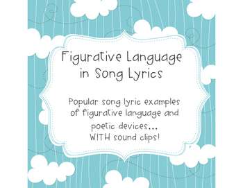 Figurative Langauge in Song Lyrics