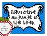 Figurative Langauge of the Week