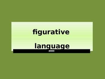 Power point: Figurative Language