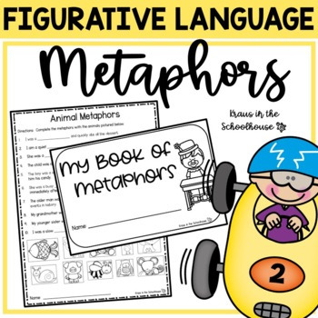 Figurative Language Bundle -Simile,Metaphor, Hyperbole, Personification & Idiom
