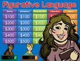 Figurative Language Jeopardy Style Game Show