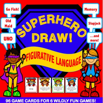 Figurative Language Activities: 6 Figurative Language Games