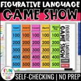 Figurative Language Game Show | Figurative Language Activity Review Game